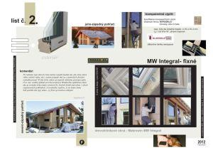 Makrowin Integral - pevné okná